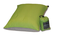 Cocoon Air-Core Pillow large ultralight wasabi/grey